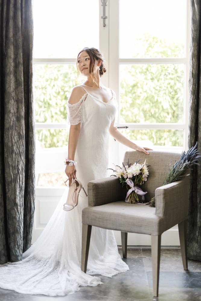 destination wedding provence dress