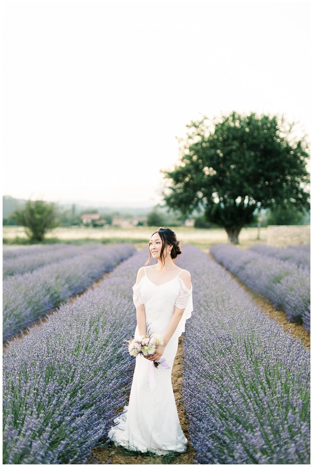 destination wedding provence lavander fields