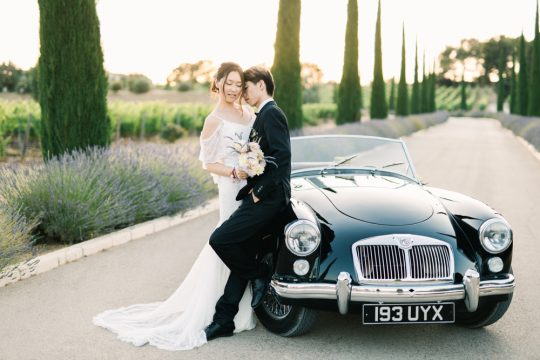 This report has been published by the international wedding blog: The French Wedding Style