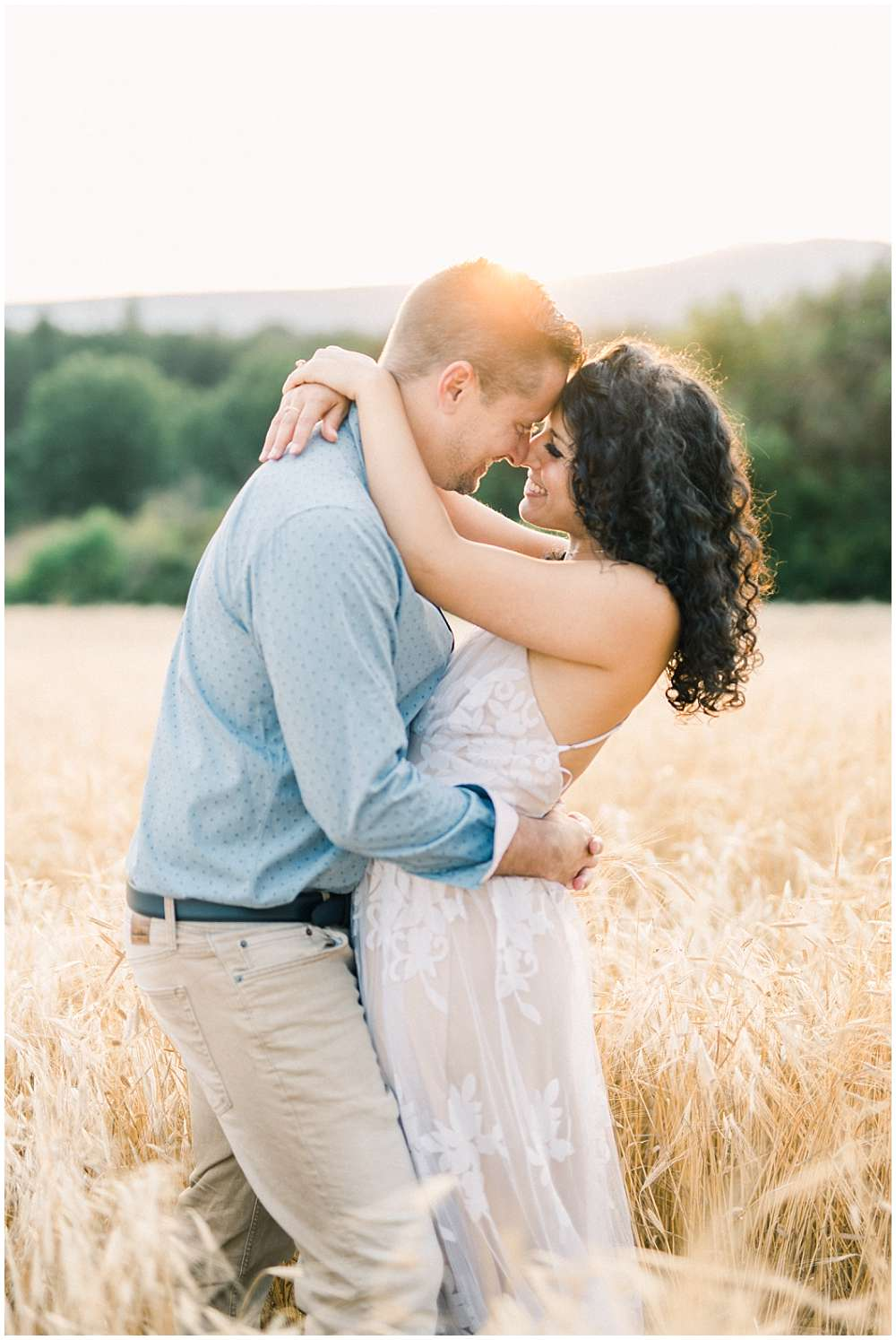 engagement session in provence french riviera