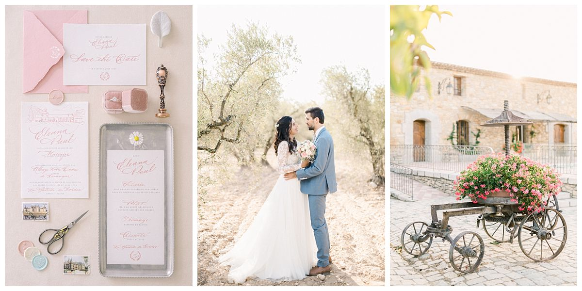 mariage provence chic champetre