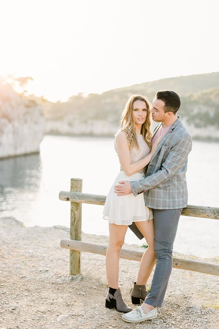 photo couple shooting marseille cassis calanque